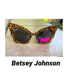 Betsey Johnson Butterfly Sunglasses